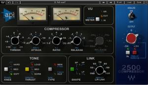 Image of Waves VCA Compressor plugin
