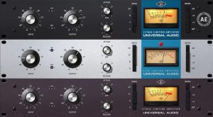 Image of 1176 Universal Audio software compressors.