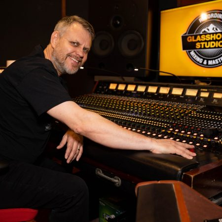 Image of Angus Woodhead owner of Glasshouse Studios_the Audio Mill member